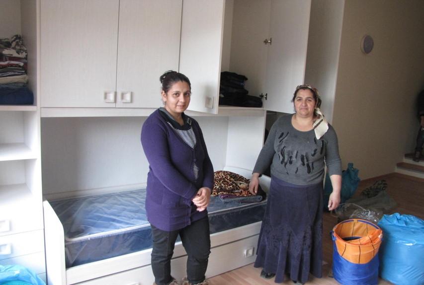 Torino ecco le case nuove ai rom moderne e con parquet Le case moderne