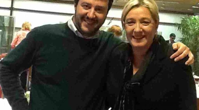 """Le Pen a Salvini: """"Ora tocca a te, combatti!"""""""