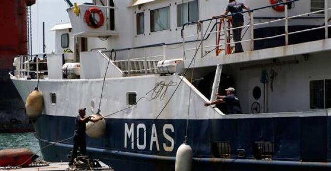Moas, la nave privata che farà concorrenza alla Marina Militare italiana nel raccogliere clandestini