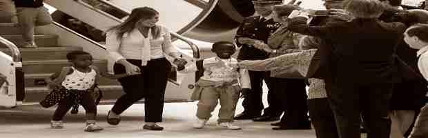 Stanziati 20 mln euro per importare bambini africani