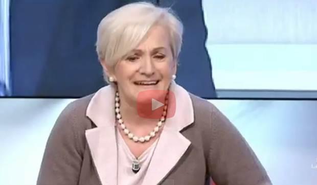Livia Turco piange per 'astinenza da poltrona' – VIDEO