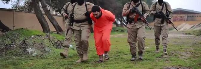 ISIS 'giustizia' prigioniero – VIDEO CHOC