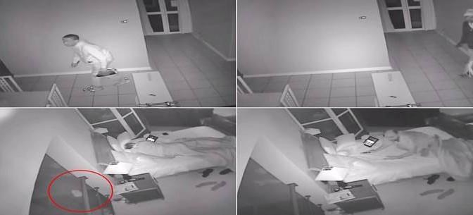 Africani entrano in casa mentre dormono: donna spara – VIDEO