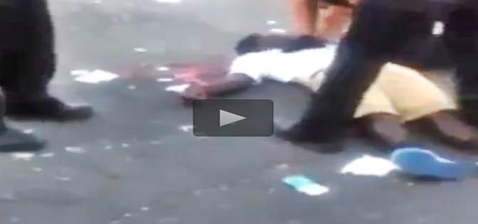 Usa: gli afro si uccidono fra loro, agenti tentano salvataggio – VIDEO