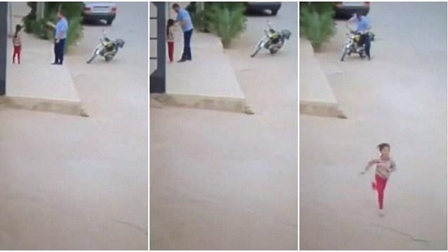 Turco avvicina bambina e le strappa via gli orecchini – VIDEO