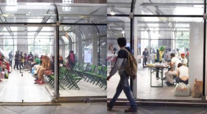 Piano B: immigrati nei negozi di Milano – FOTO