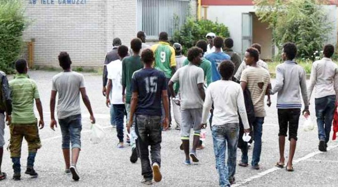 """Belluno, disordini tra profughi: """"Non vogliamo africani in stanza"""""""