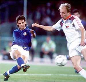"""Per il Telegraph Baggio è """"uno dei giocatori più sopravvalutati della storia"""""""