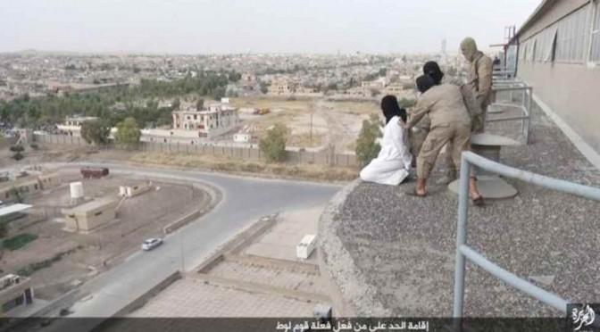 Islamici lanciano un altro gay da tetto: questa è 'omofobia' – FOTO STORIA