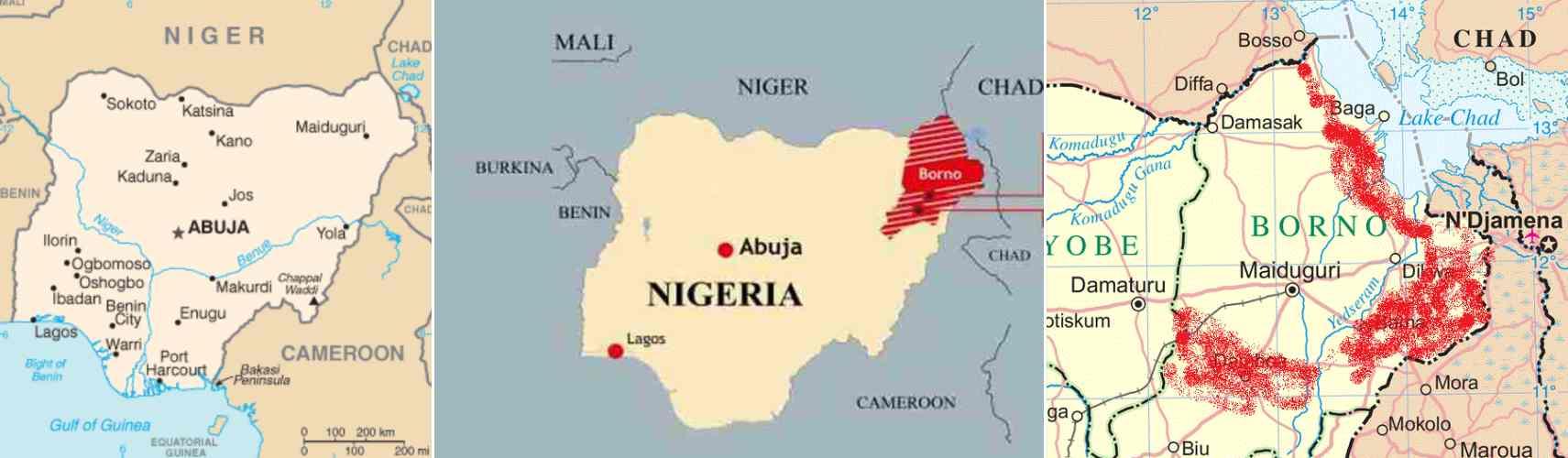 CLICCA: LA BUFALA DEI PROFUGHI NIGERIANI IN FUGA DALLA GUERRA CHE NON C'E'