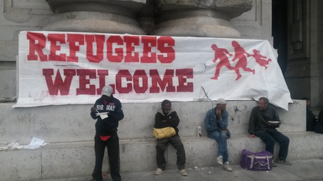 Flop di 'Welcome Refugees' a Milano – FOTO TRISTE