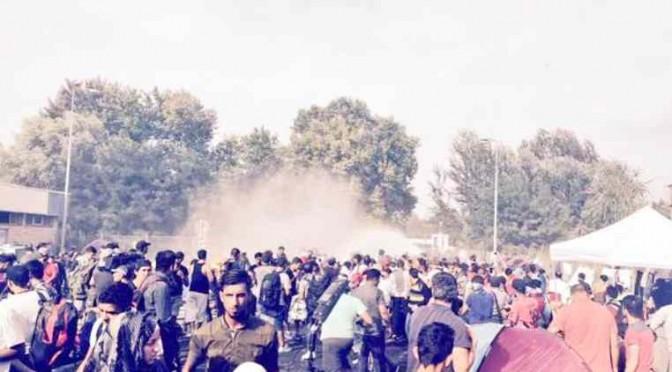 Guerriglia Islamica a confine Ungheria, soldati reagiscono: scontri – VIDEO