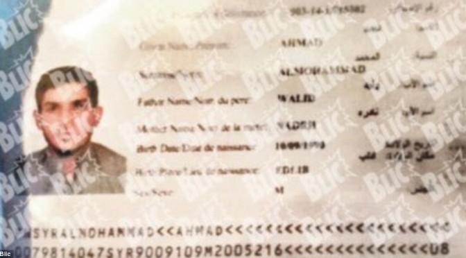 Ecco il passaporto del profugo kamikaze: biglietti traghetto forniti da Tsipras – FOTO