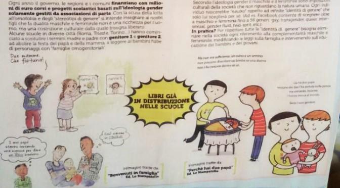 Fassino patrocina libri Gender per scuole – LEGGI