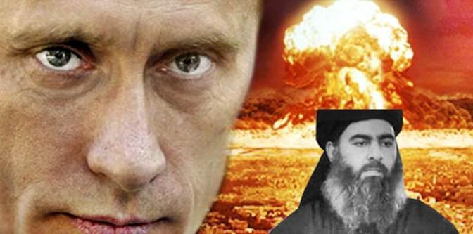 """Putin avverte ISIS: """"Se necessario, anche missili nucleari"""""""