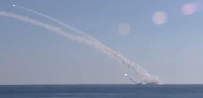 Putin scatena su ISIS un giubileo di missili da sottomarino in Mediterraneo – VIDEO