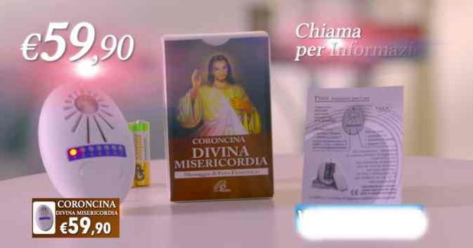 La Coroncina della Divina Misericordia: Bergoglio come Vanna Marchi