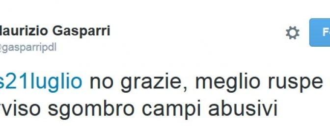 Gasparri e associazione Soros: scontro a colpi di tweet