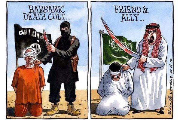 difference-between-Isis-and-Saudi-Arabia