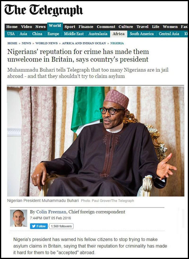 Telegraph-Nigerians