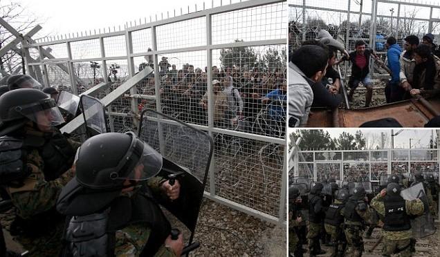 """Macedonia chiude frontiera: """"Non passa più nessuno"""""""