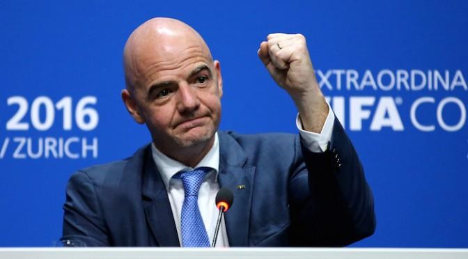 """Infantino, nuovo capo FIFA: """"Io Italiano al 100 per cento"""""""