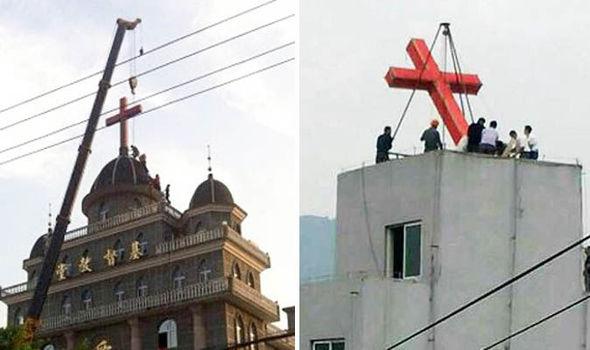 Migliaia di croci rimosse in Cina per volere del Partito Comunista – FOTO