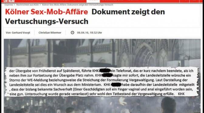Colonia: governo tedesco fece cancellare parola 'stupro' da rapporto polizia