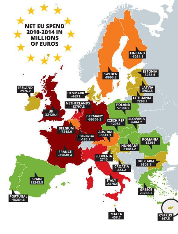 LEGGI QUANTO L'ITALIA REGALA ALLA UE