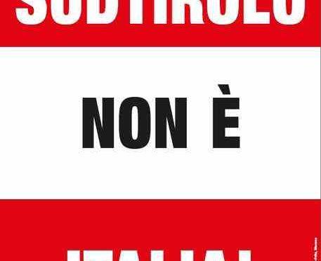 La questione Alto Adige: manifesti anti-italiani a Roma