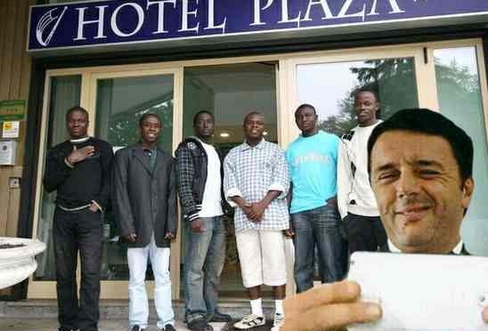 """PD: """"Contributi pubblici ad hotel che ospitano profughi"""""""