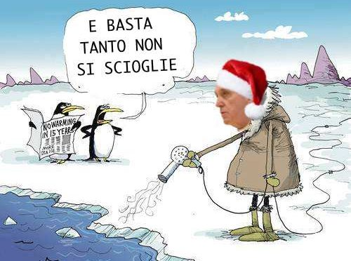 """Ora Bergoglio si inventa i """"migranti climatici"""": ormai è delirio inarrestabile"""