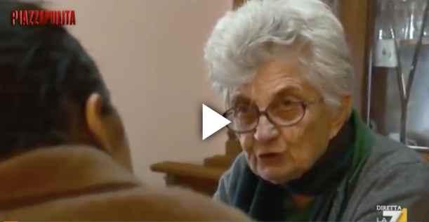 """La Nonna patriota di Gorino: """"Ma li avete visti quando sbarcano?"""" – VIDEO"""