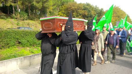A Siena il funerale del grano italiano – Foto