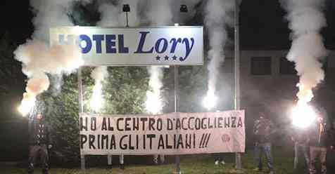 ROVIGO: PRONTE BARRICATE CONTRO REQUISIZIONE HOTEL