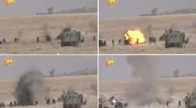 MOSUL: miliziano ISIS si finge ferito e si fa esplodere tra soldati – VIDEO