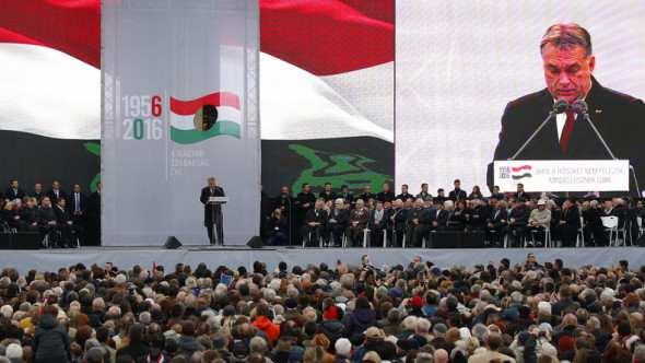 """Orban commemora rivolta di Budapest: """"Oggi l'Urss è a Bruxelles"""""""