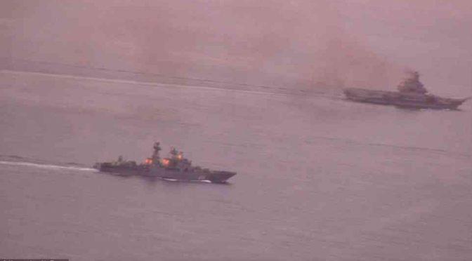Flotta russa nel Mediterraneo: pronto assalto a ISIS