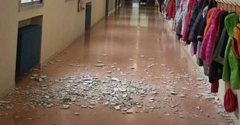 La Buona Scuola continua a cadere in testa ai bambini – FOTO