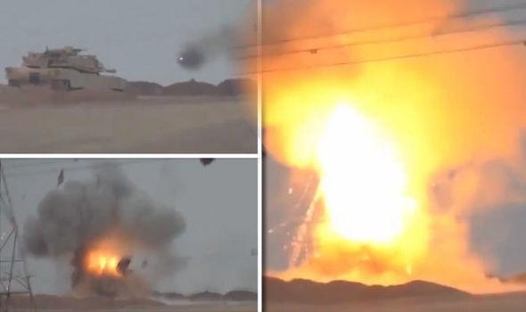ISIS distrugge carro armato americano vicino Mosul – VIDEO