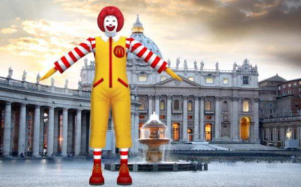Affari sporchi: Vaticano affitta palazzo San Pietro a Mc Donald's