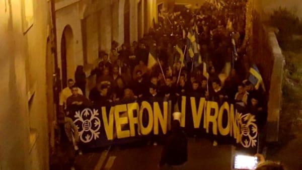 VERONA: IL GIORNO DELLA PROTESTA CONTRO REQUISIZIONE HOTEL