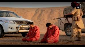 Islamici giustiziano 2 'infedeli' con mitragliatrici – VIDEO CHOC