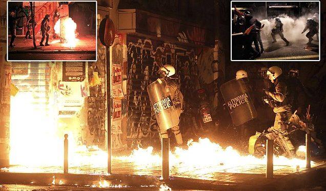 ULTIMO VIAGGIO DI OBAMA SEGNATO DA VIOLENZE – FOTO – VIDEO