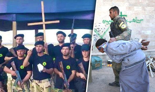 BRIGATE CRISTIANE LIBERANO MONASTERO DA ISLAMICI – FOTO