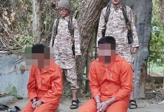 BAMBINI ISLAMICI GIUSTIZIANO SPIE RUSSE, MINACCIANO PUTIN – VIDEO CHOC
