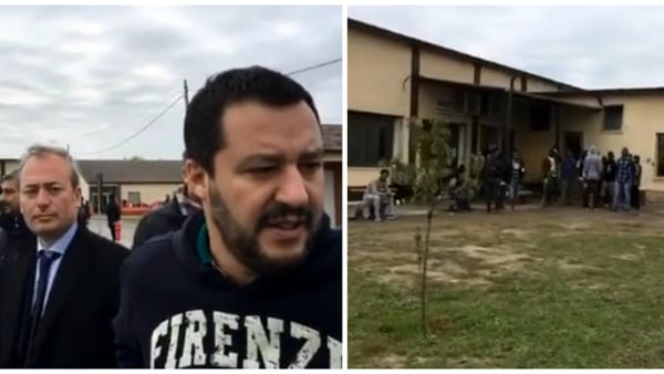 Tensione a Padova: Profughi 'sequestrano' Salvini durante visita