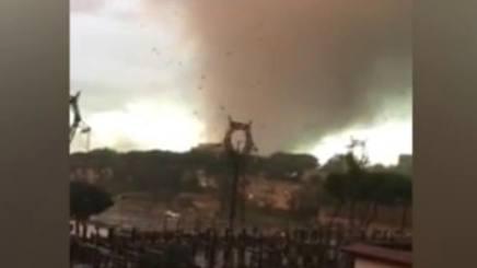 TROMBA D'ARIA A ROMA: MORTI E FERITI – VIDEO CHOC