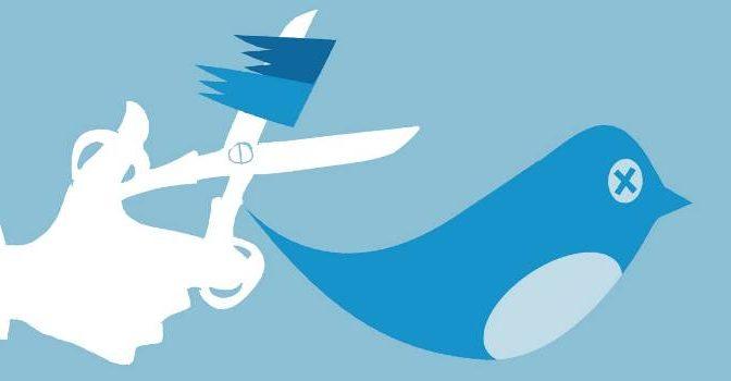 Purghe su Twitter: decine accounts vicini a Trump cancellati