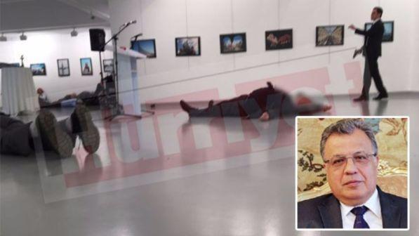 AMBASCIATORE RUSSO: TERRORISTA E' POLIZIOTTO TURCO DELLA SICUREZZA!